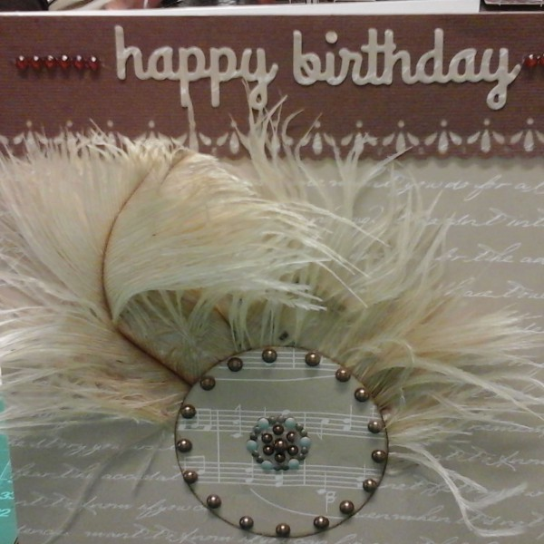 Priscilla - Scrapbook Studio - Cards Feathers