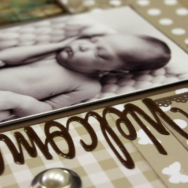 Scrapbook Studio - Cariena - Welcome Gingham