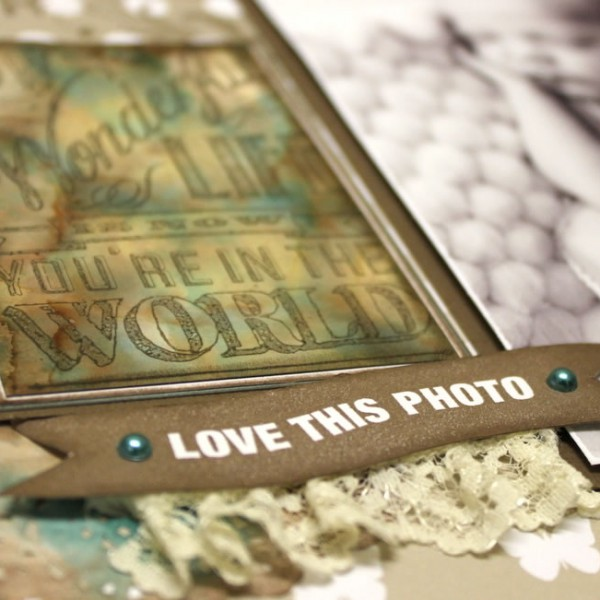 Scrapbook Studio - Cariena - Welcome Stamping