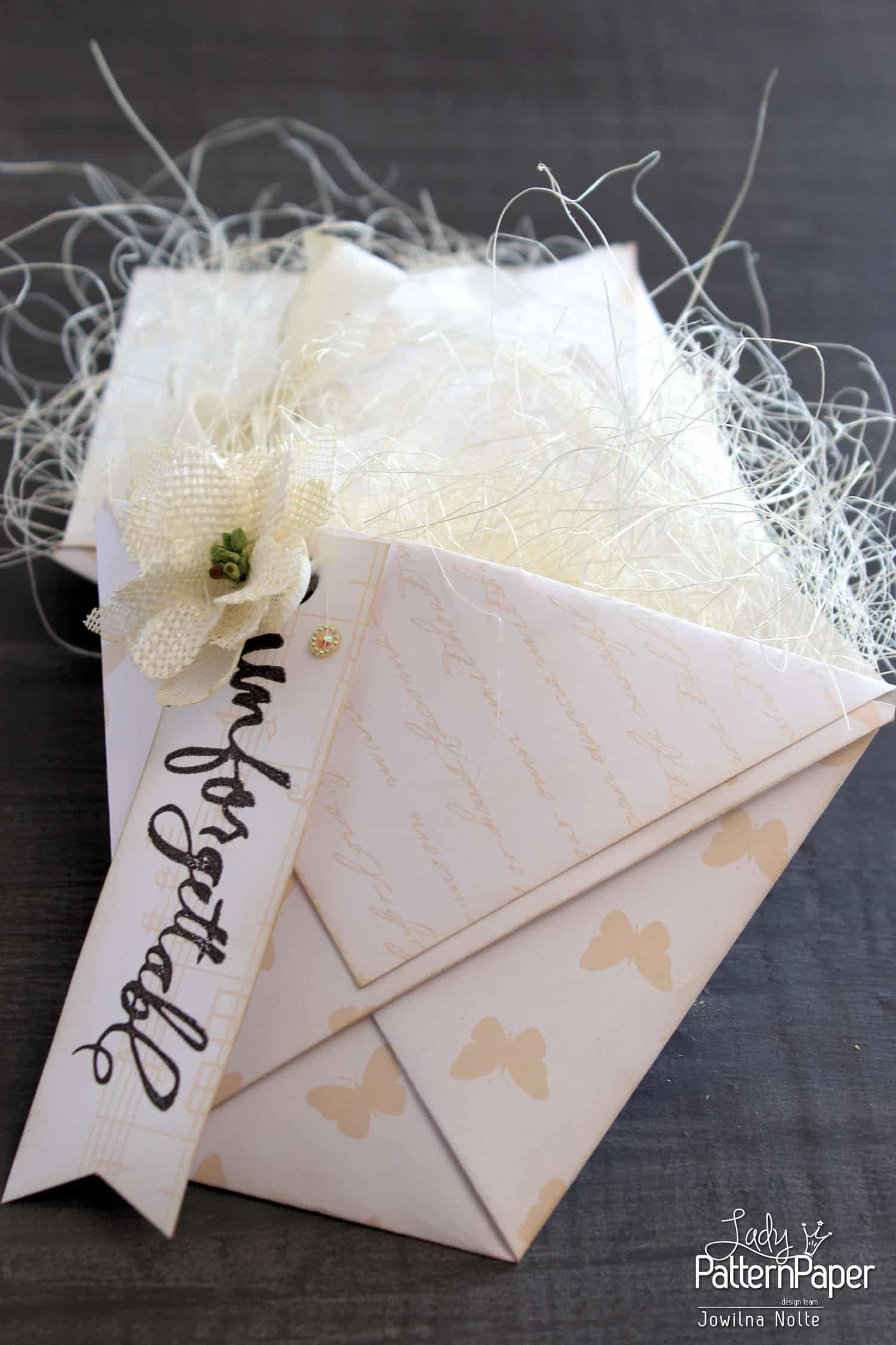 Wedding Favour Boxes - Handmade