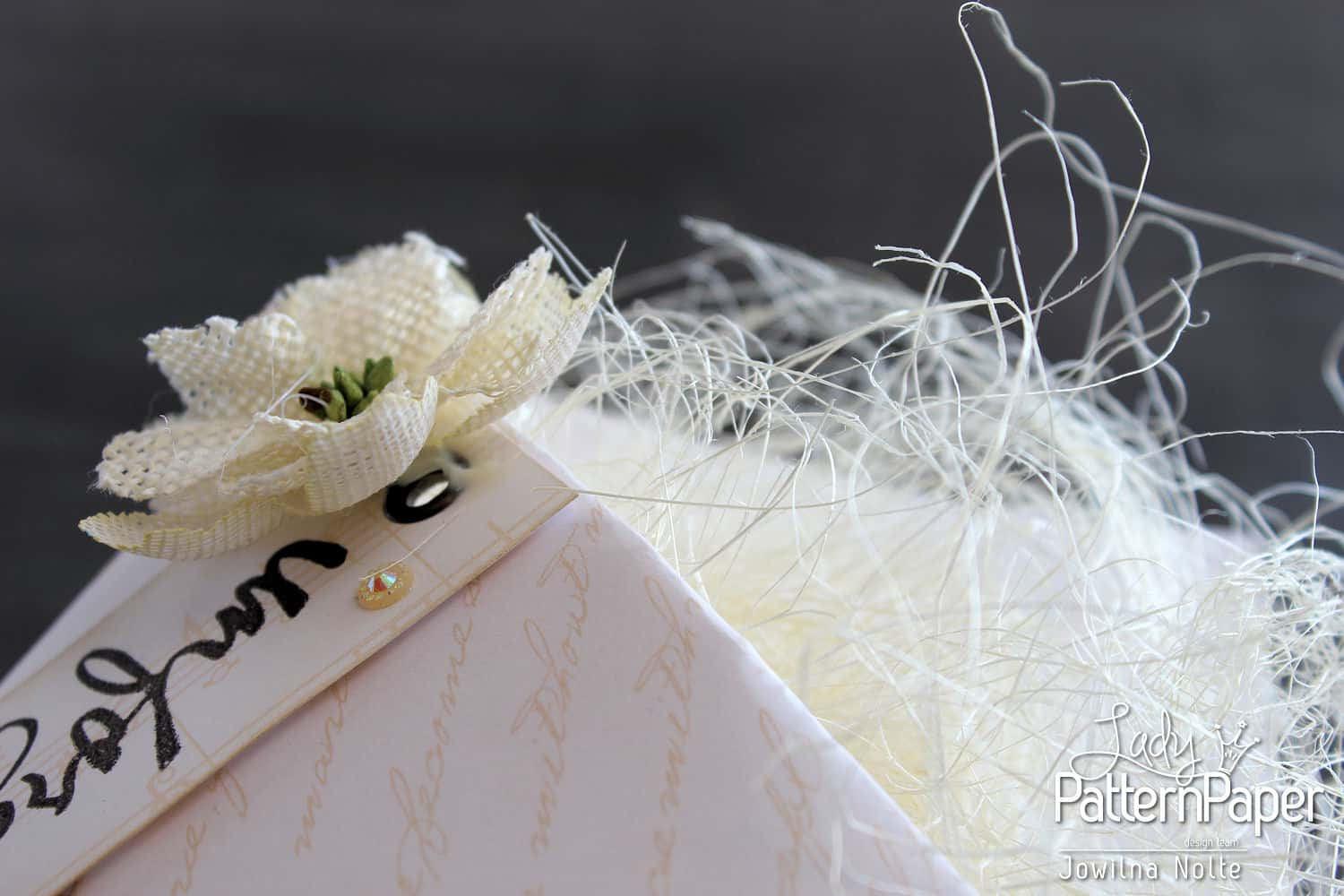 Wedding Favour Boxes Script Detail