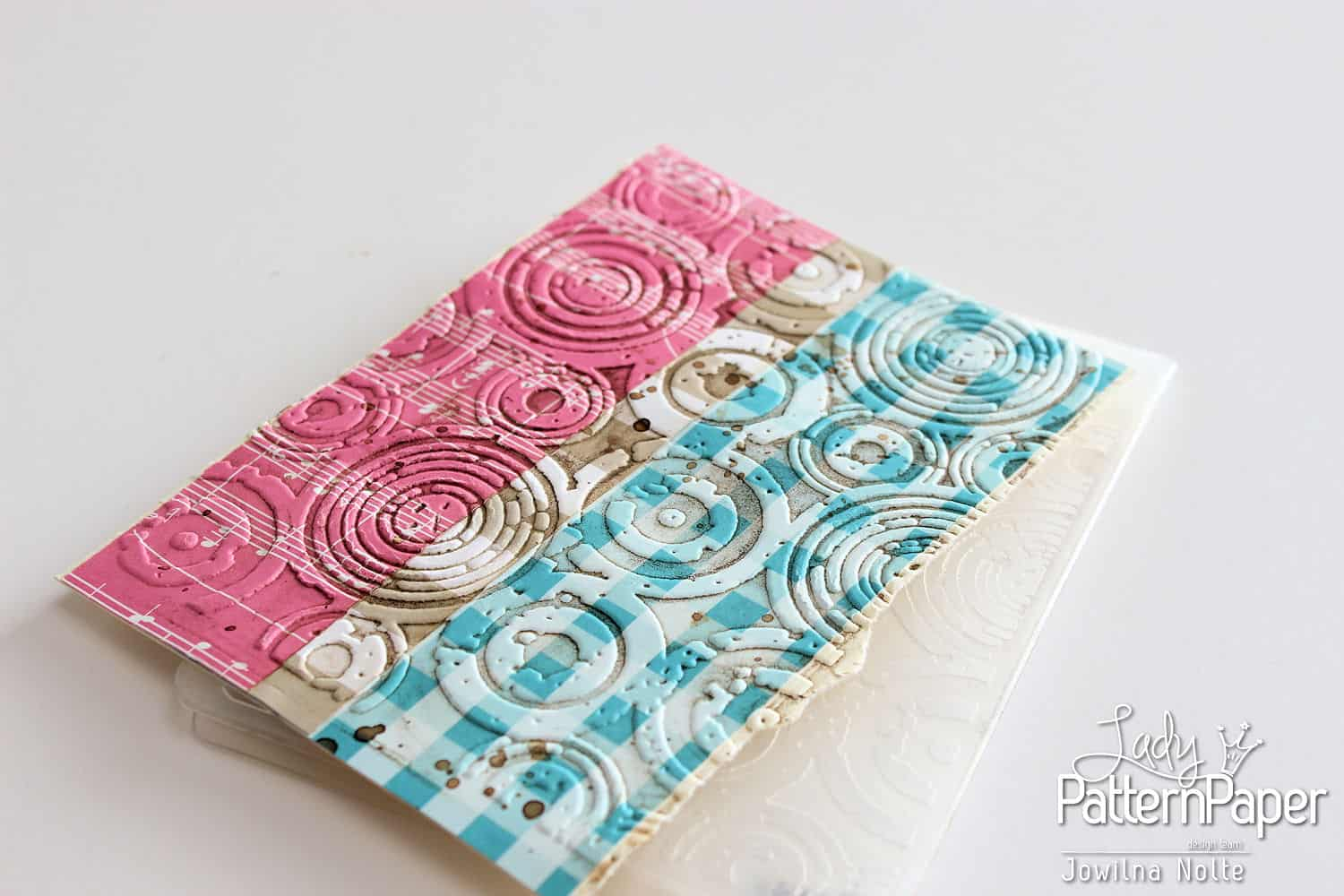Embossed Background Card - Step 3