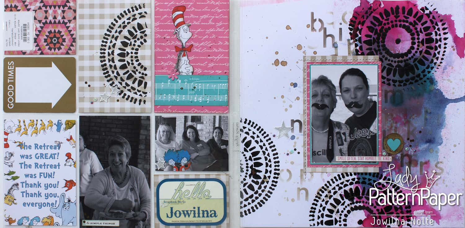 Project Life using Lady Pattern Paper