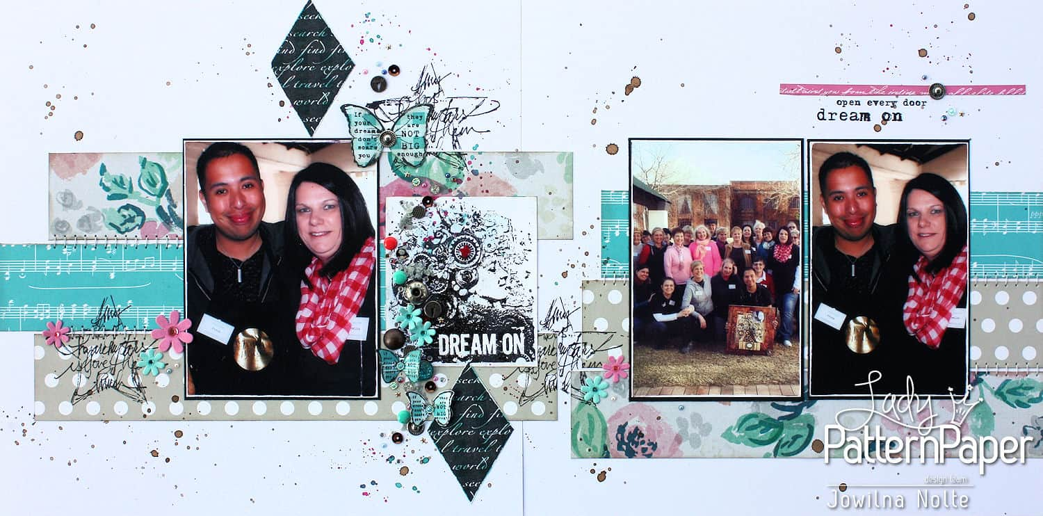 Stamped Details - Dream On Layout