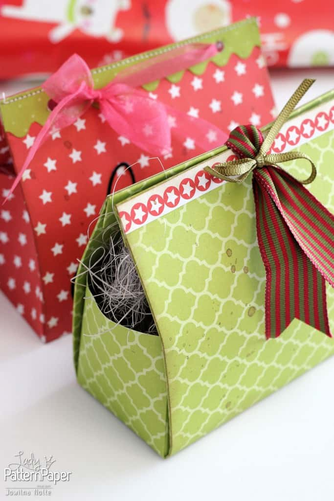 Beautiful DIY Christmas Gift Boxes
