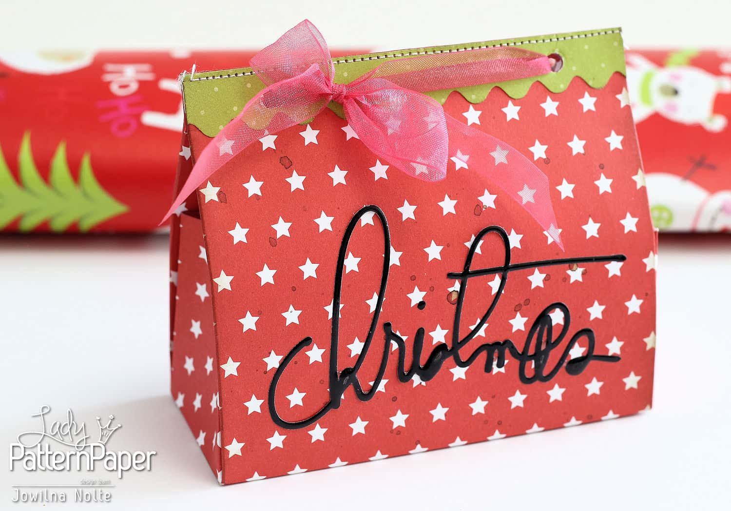 Diy christmas gift boxes ⋆ lady pattern paper