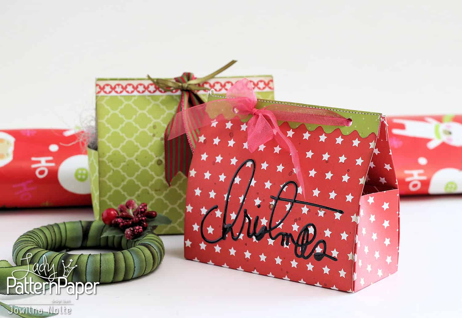 DIY Christmas Gift Boxes - Red Pop Little Star
