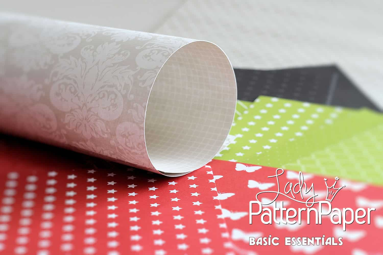 Lady Pattern Paper - Basic Essentials - Combo