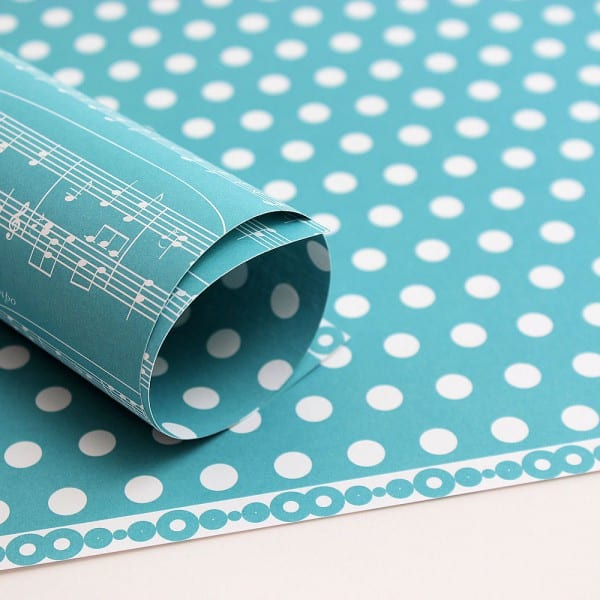 PP0008 - Basic Essentials - Sheet Music - Intense Teal