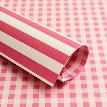 PP0011 - Basic Essentials - Gingham - Pink Mary