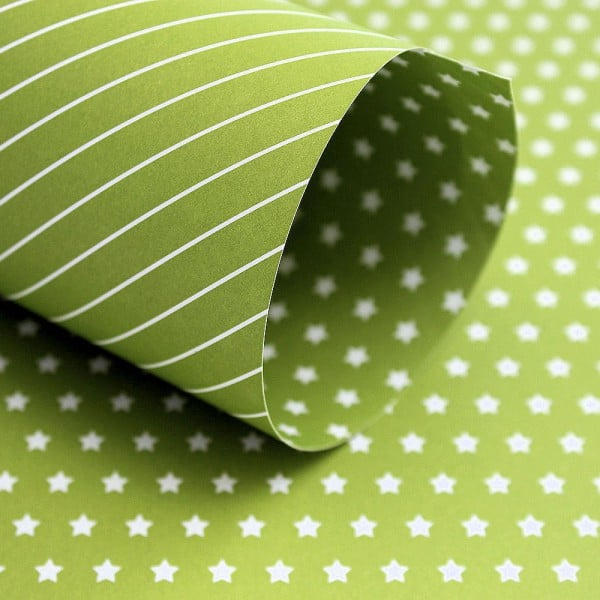 PP0013 - Basic Essentials - Little Star - Green Chartreuse