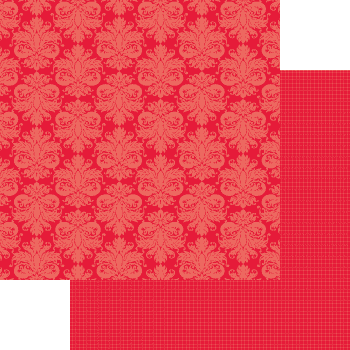 PP0020 - Damask - Red Pop