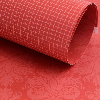 PP0020 - Basic Essentials - Damask - Red Pop
