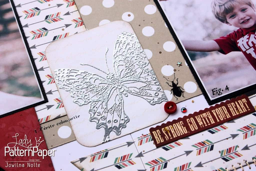 Creating Your Own Embossed Accents - Butterfly