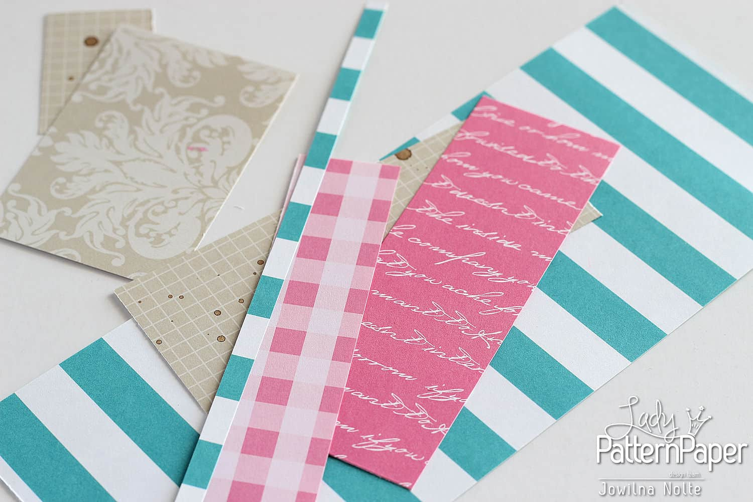 Quilted Card - Step 1