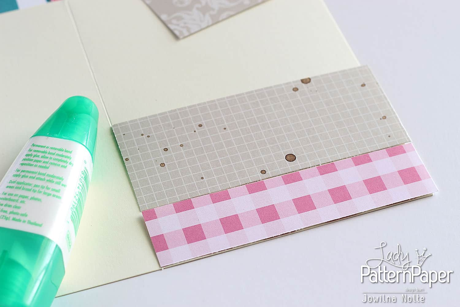 Quilted Card - Step 2