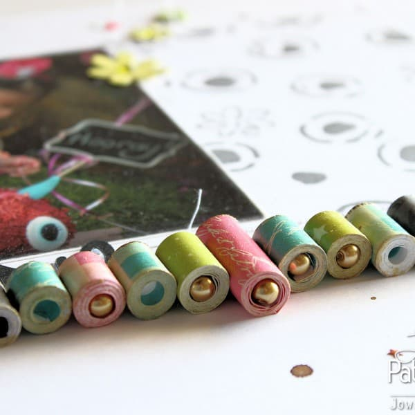 Rolled Paper Beads - Detail