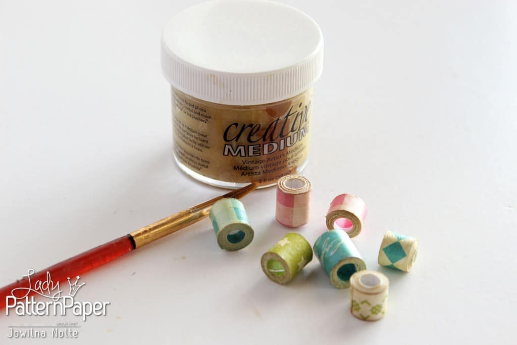 Rolled Paper Beads - Step 4