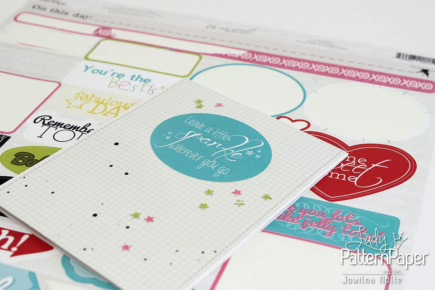 Sticker Sentiment Cards - Step 1