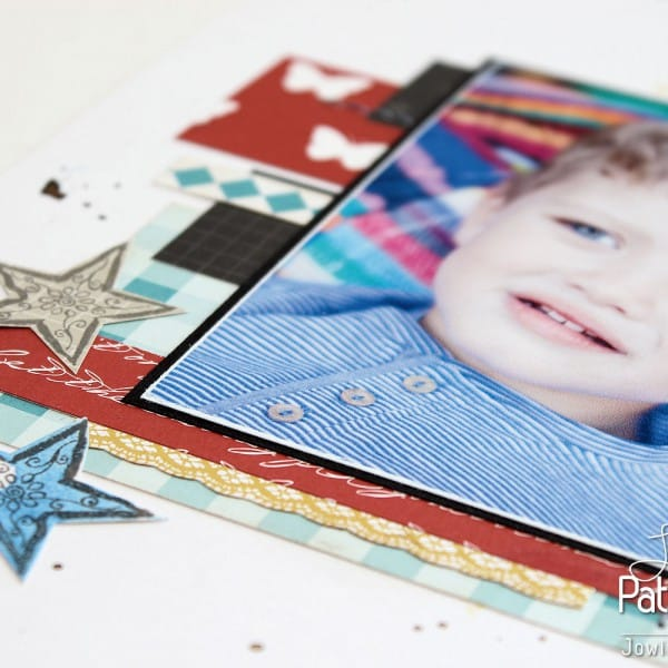 Inspired By Patterned Paper - Stars
