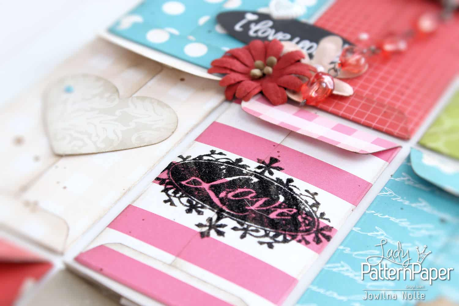 Envelope Sampler Board - Flocked Rub-Ons