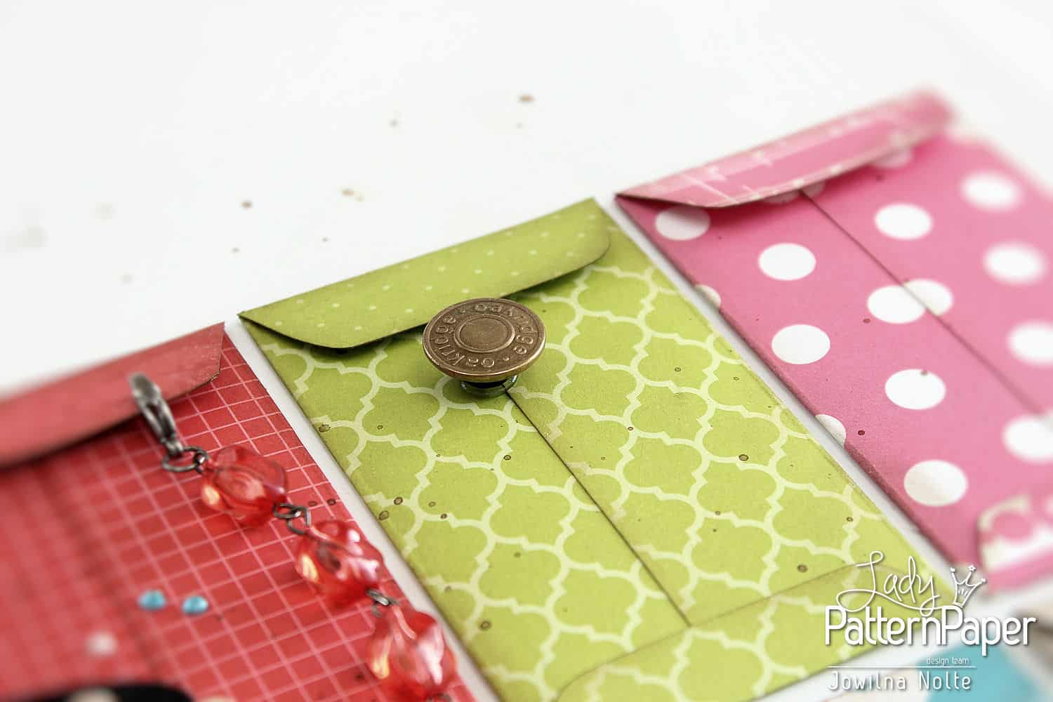 Envelope Sampler Board - Stray Buttons