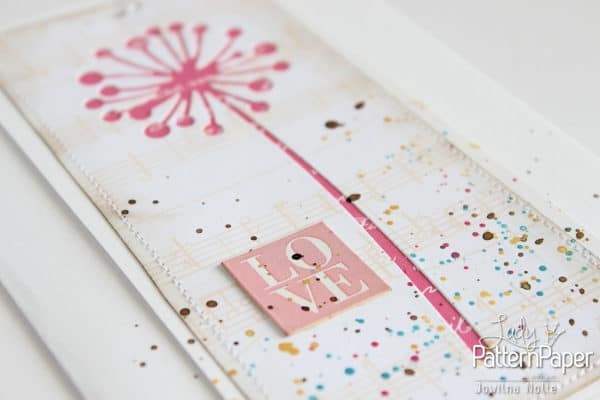Paper Craft Fun Handmade Card - Love