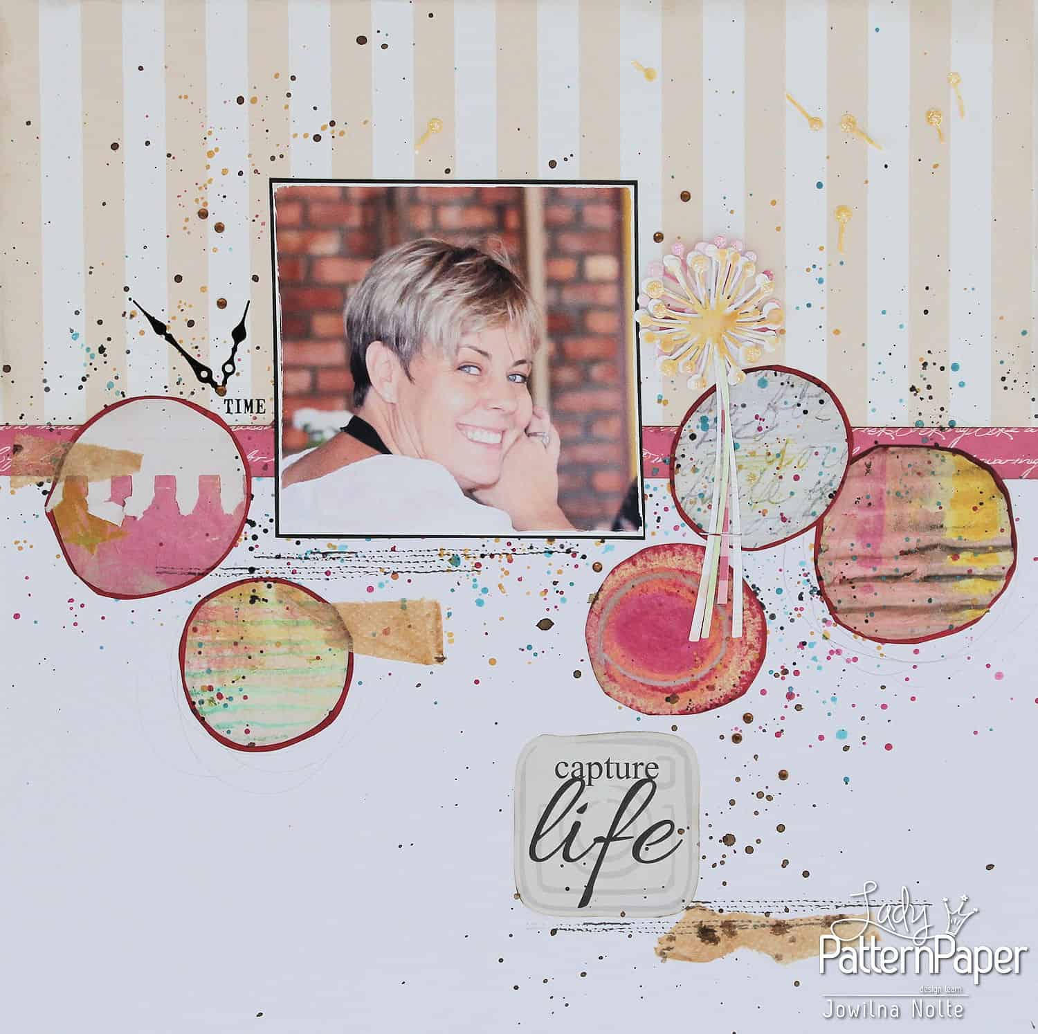 Paper Craft Fun Scrapbook Layout