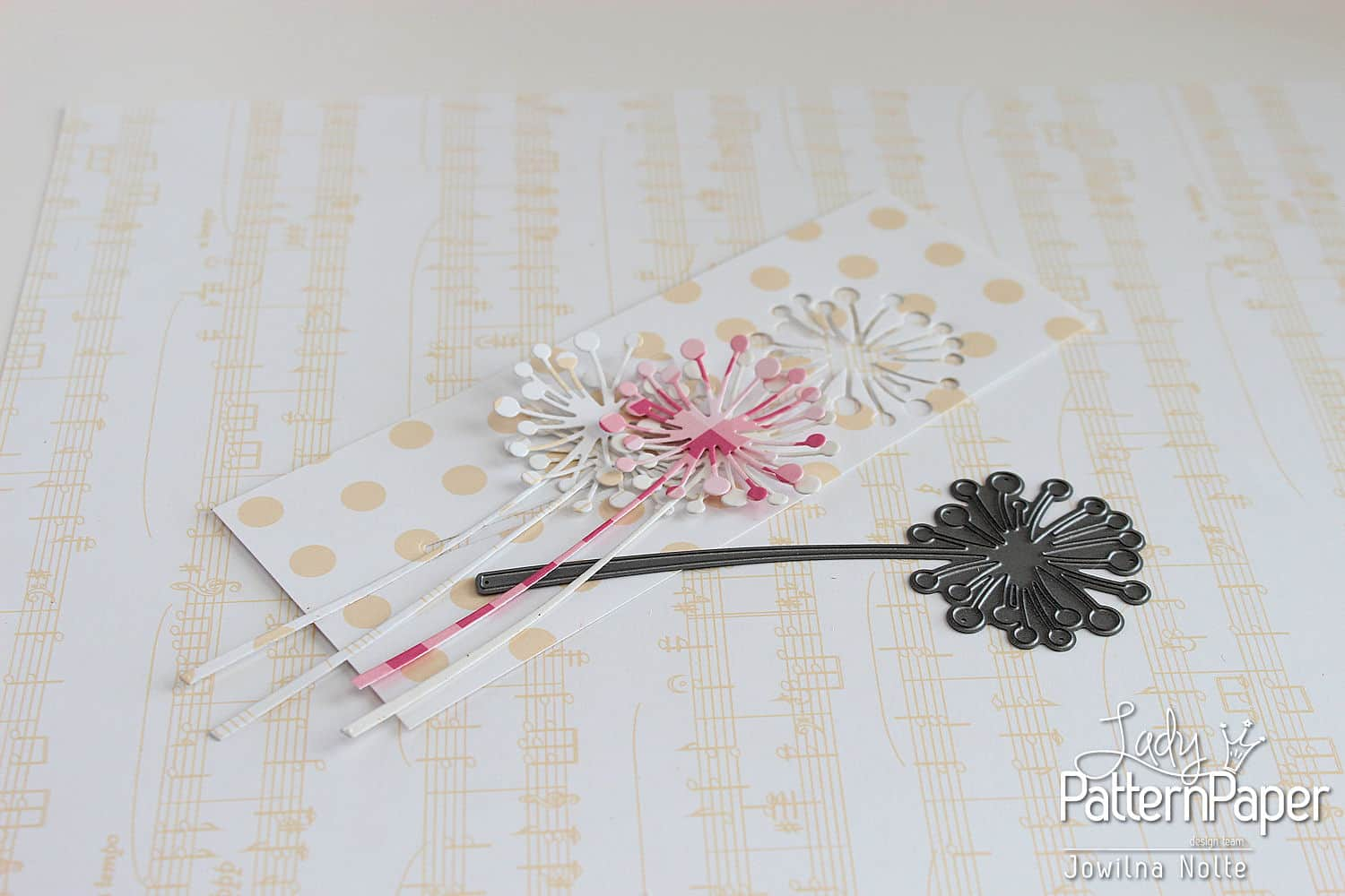 Paper Craft Fun Handmade Card - Step 1