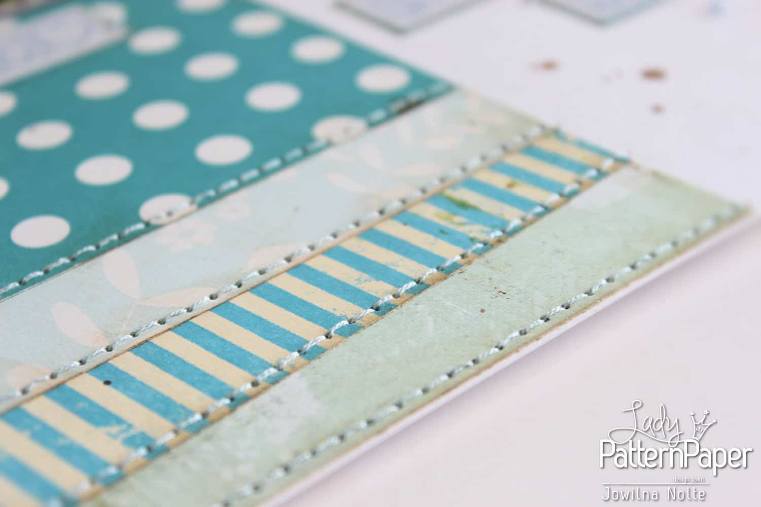Shades Of Blue Layout - Baby Boy Papers