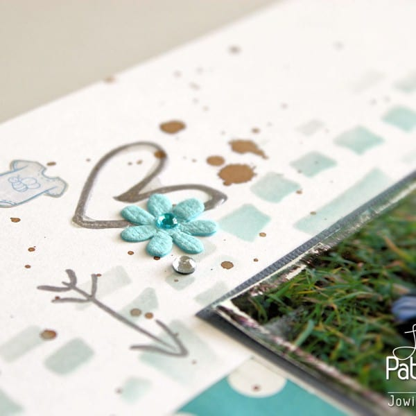Shades Of Blue Layout - Sticker
