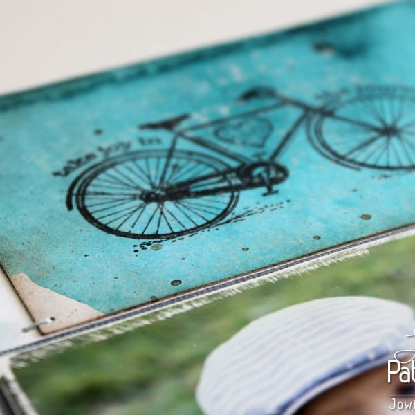 Shades Of Blue Layout - Stamping