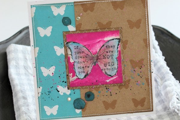 Butterfly Card - Cardmaking