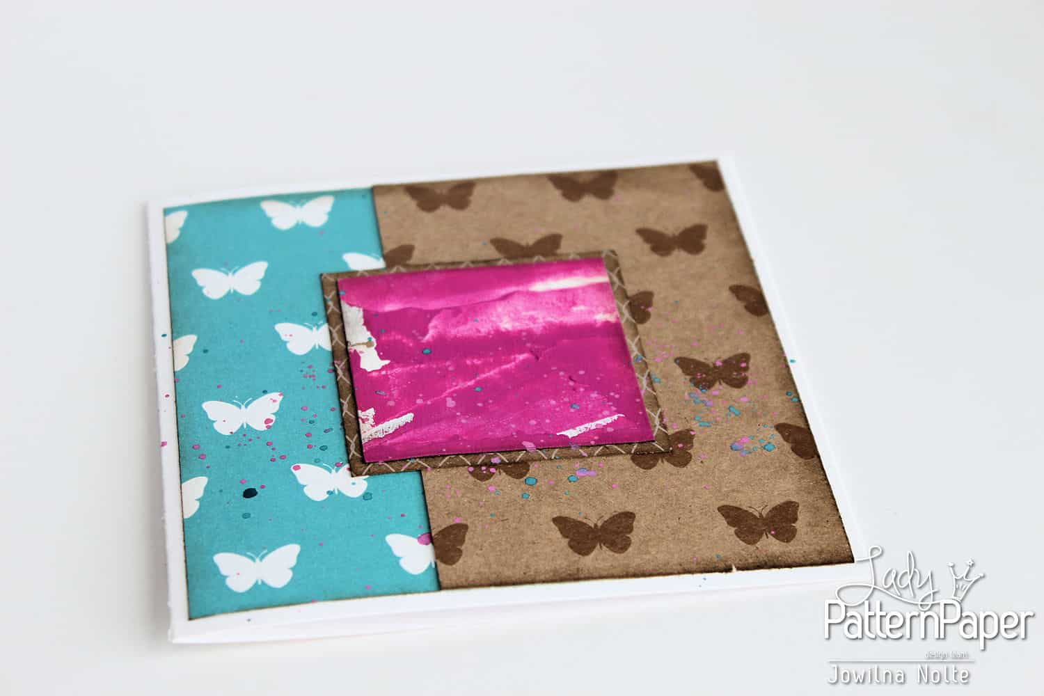 Butterfly Card - Step 4