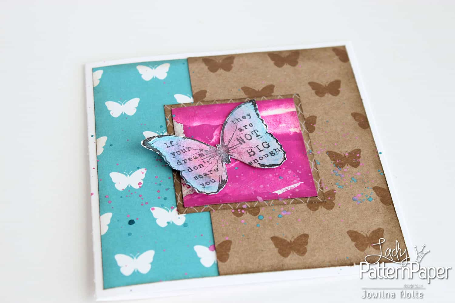 Butterfly Card - Step 5