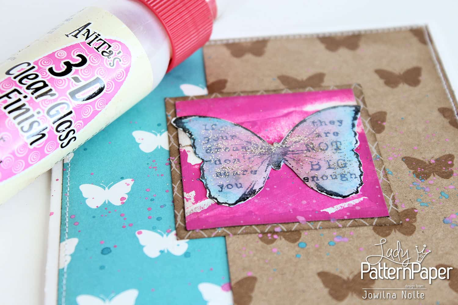 Butterfly Card - Step 6