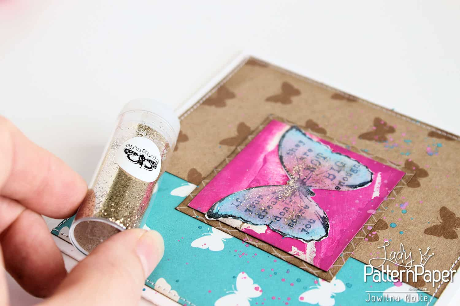 Butterfly Card - Step 7