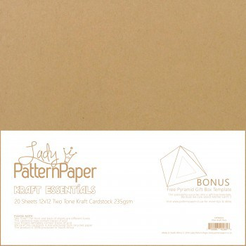 LPPB0003 - Kraft Essentials - Plain Paper Pack [20]