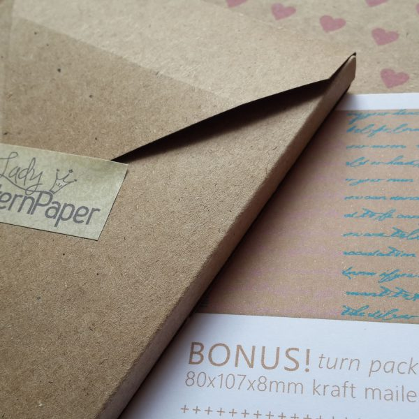 LPPB0005 Kraft Essentials Paper Pack - Bonus Mailer
