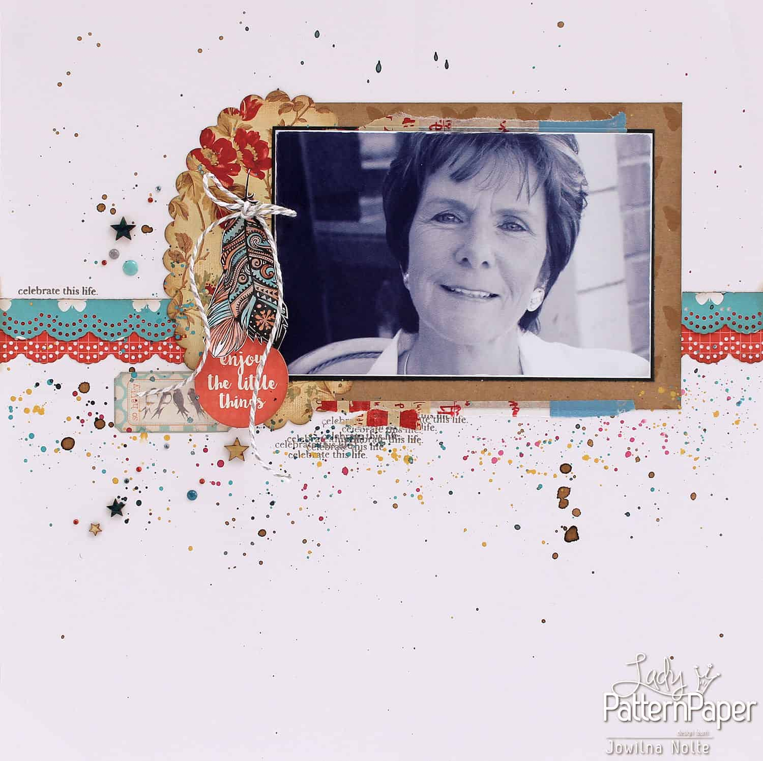 Single Page Layout - Mothers Day Layout