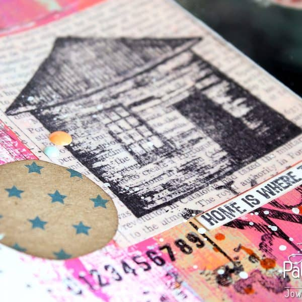 Art Journaling Page - Layout - Little Star