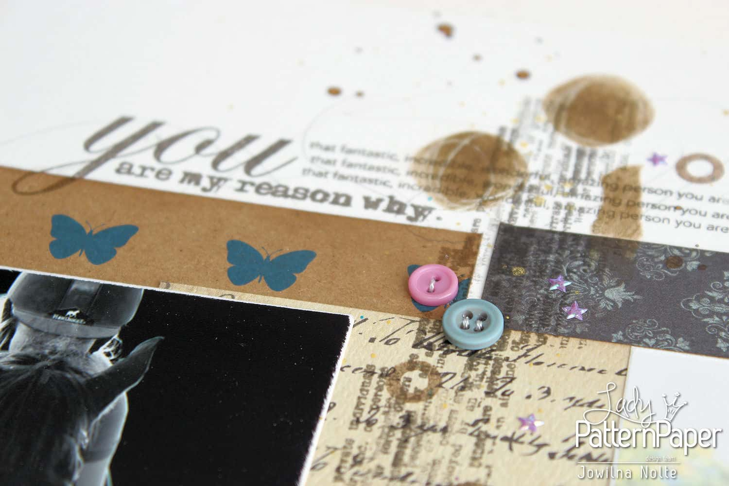 Double Page Layout - Butterfly