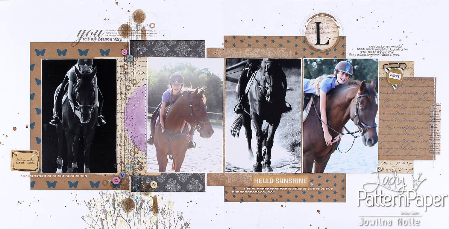 Double Page Layout - Kraft Essentials