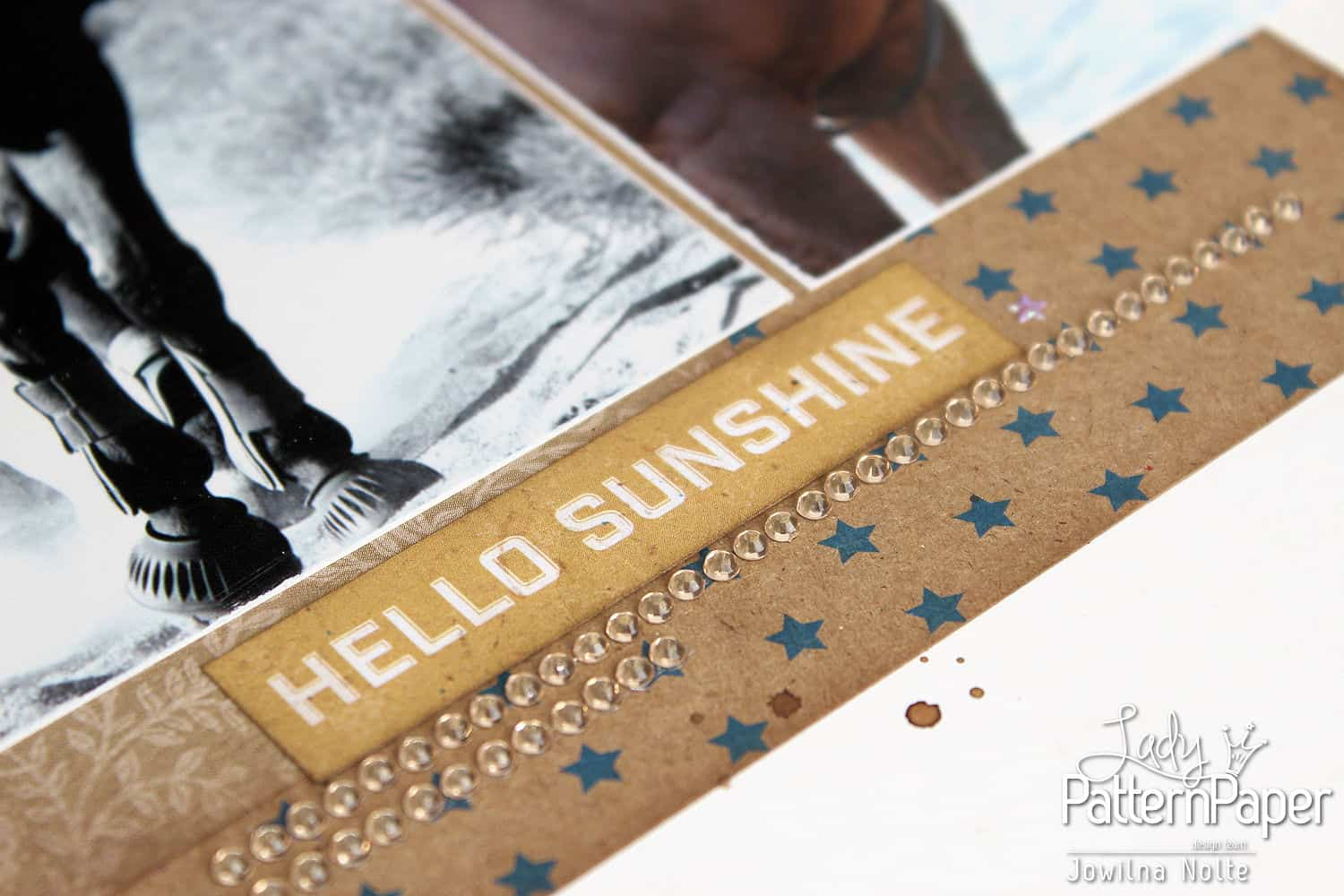 Double Page Layout - Little Star