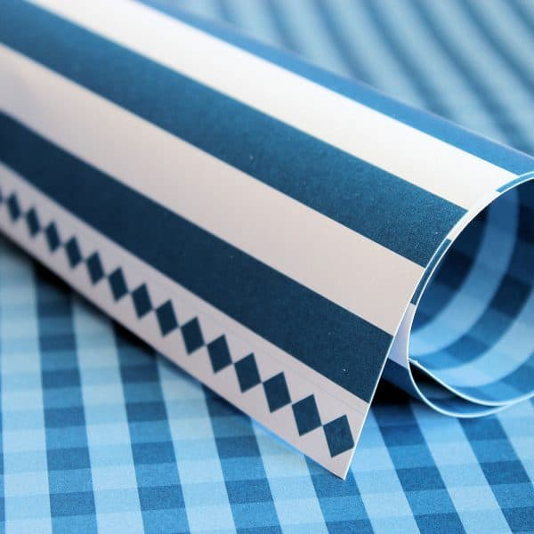 PP0029 - Basic Essentials - Dazzling Blue - Gingham