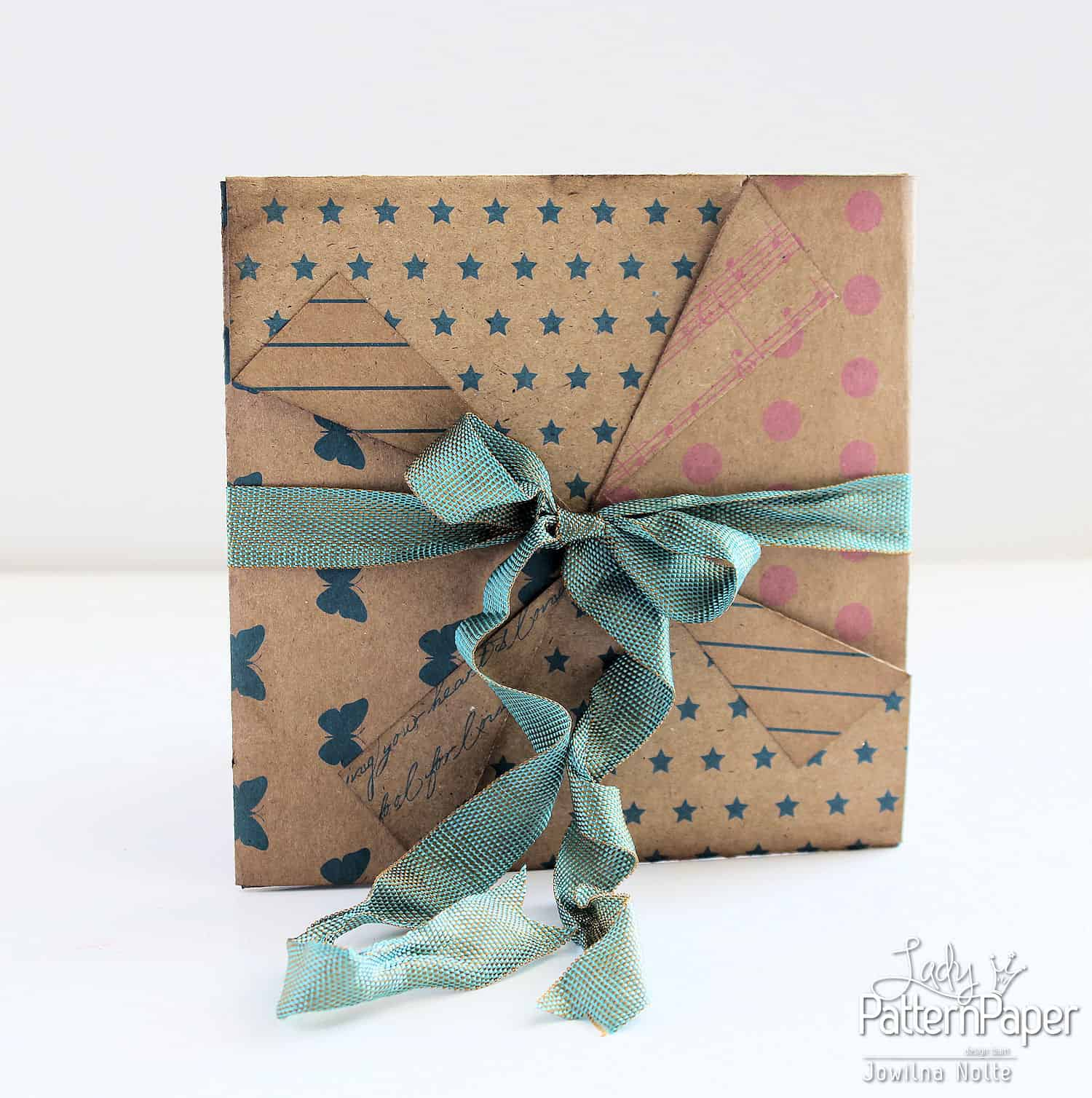 Pinwheel Envelope - Kraft Essentials