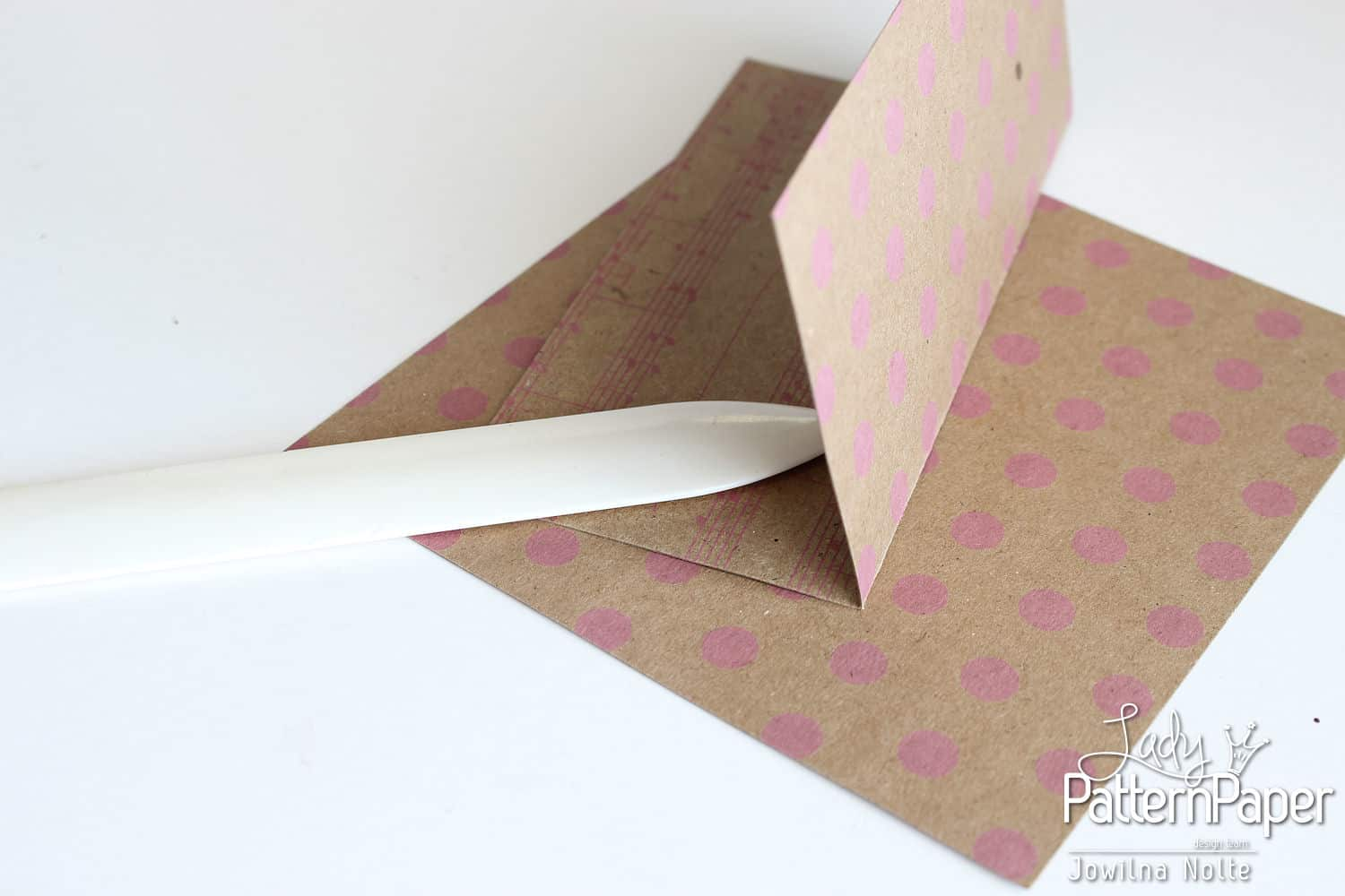Pinwheel Envelope - Step 1