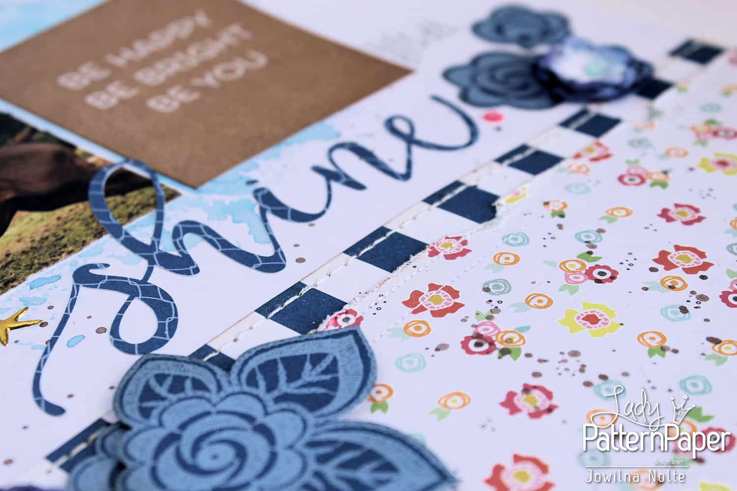 Dazzling Blue Die-Cut Elements - Shine