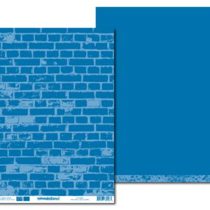 LPPT0002 - Basically Textured - Betty Brick - Dazzling Blue