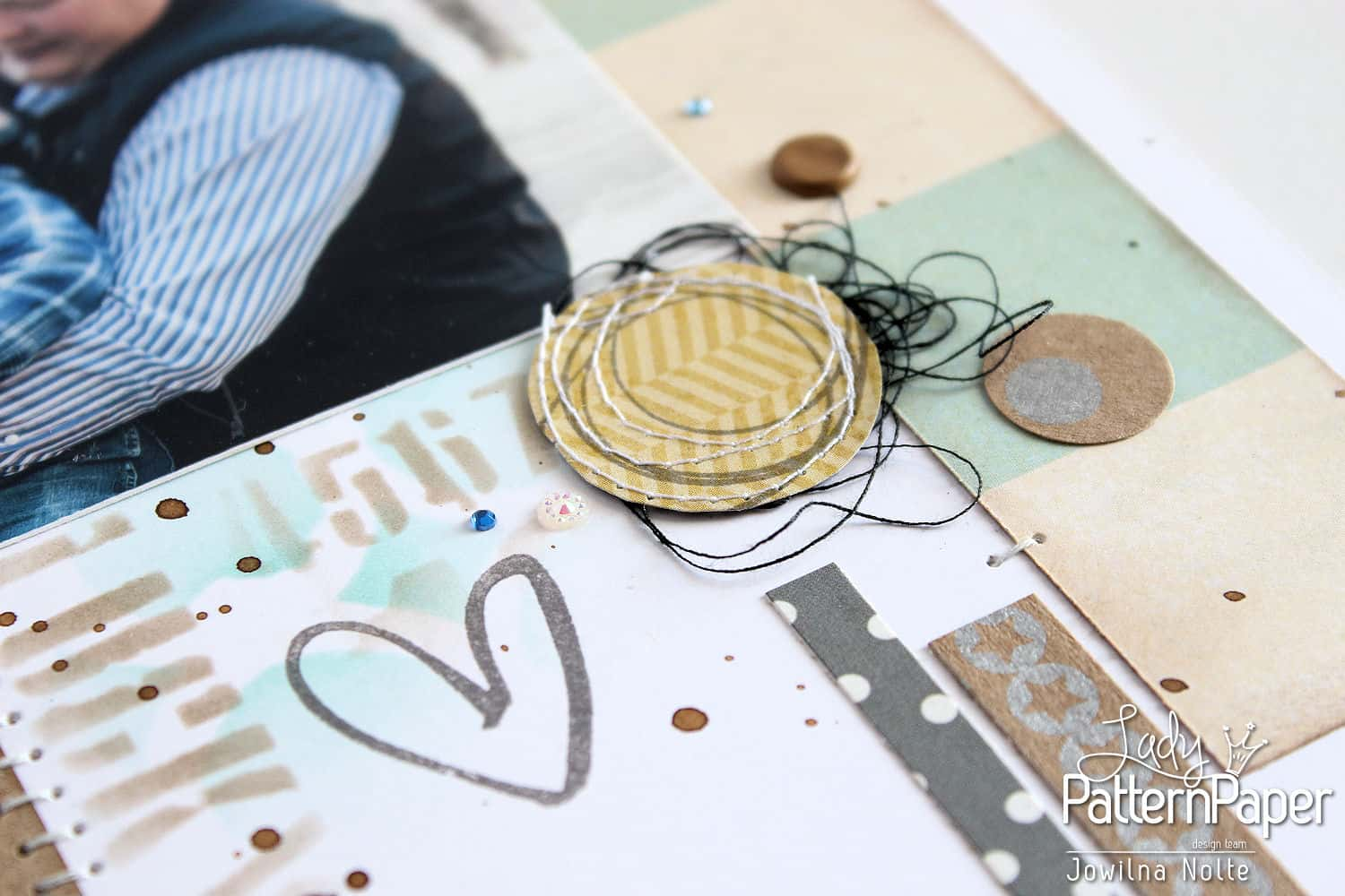 kraft essentials metallic silver - twine